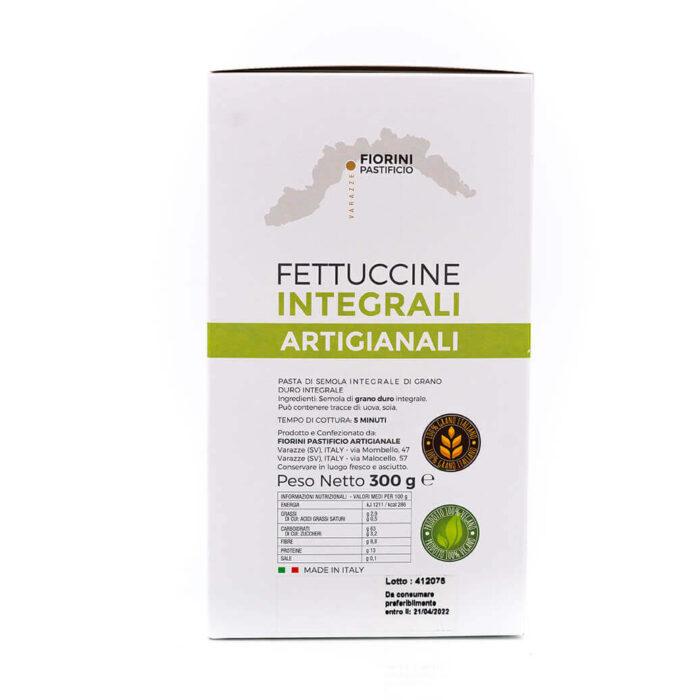 Fettuccine integrali - La Gaia - Fiorini - Lato