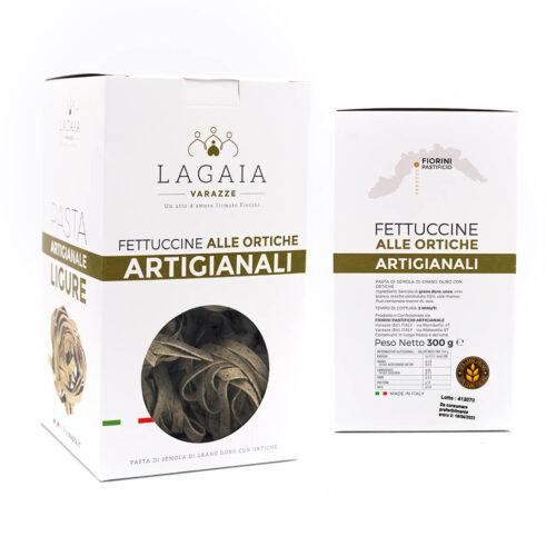 Fettuccine integrali alle ortiche - La Gaia - Fiorini