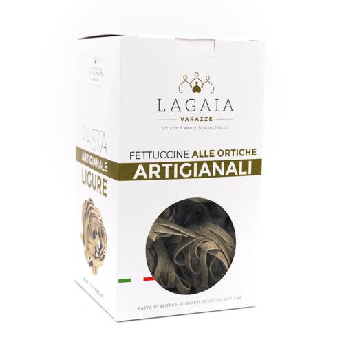 Fettuccine integrali alle ortiche - La Gaia - Fiorini - Fronte