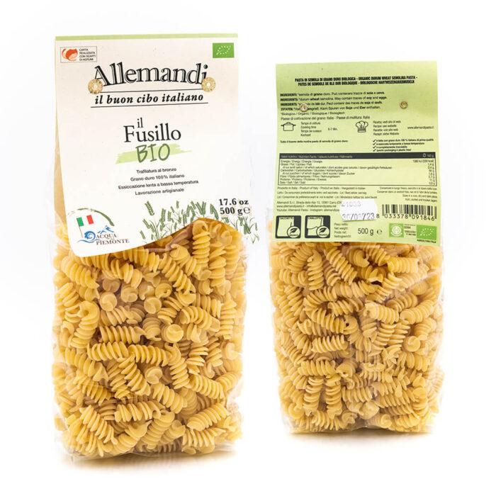 Fusilli - Pasta Biologica - Pastificio Allemandi