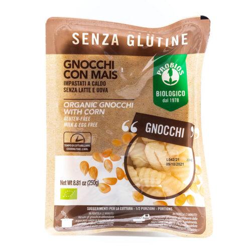 Gnocchi con mais biologico - Senza glutine - Probios