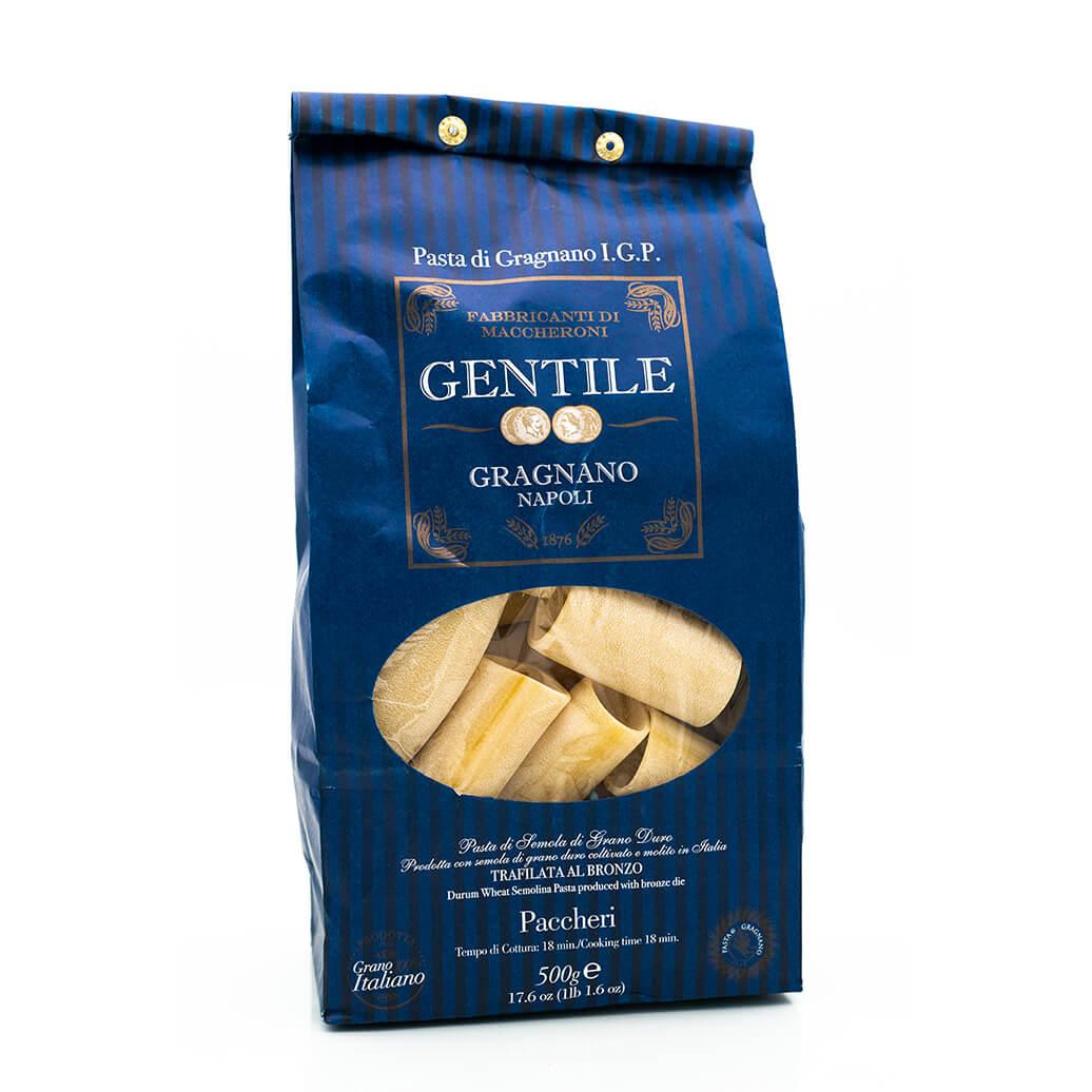 Paccheri - Pasta di Gragnano IGP - Pastificio Gentile - Fronte
