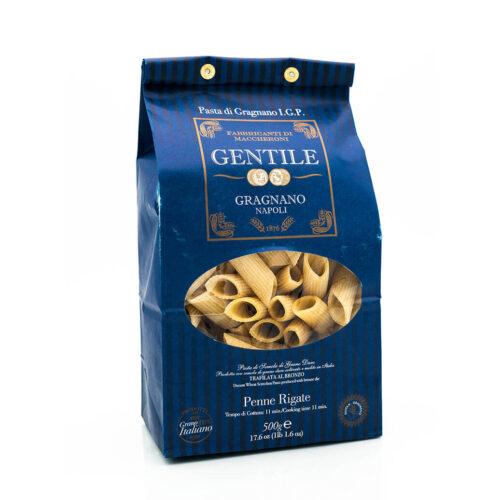 Penne Rigate - Pasta di Gragnano IGP - Pastificio Gentile - Fronte