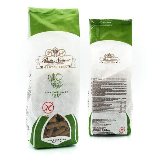 Rigatoni di Teff - Senza glutine - Pasta Natura