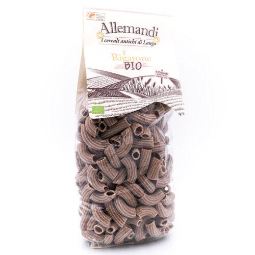 Rigatoni integrali ai 4 cereali - Biologica - Pastificio Allemandi