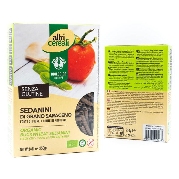 Sedanini di grano Saraceno - Senza glutine - Probios