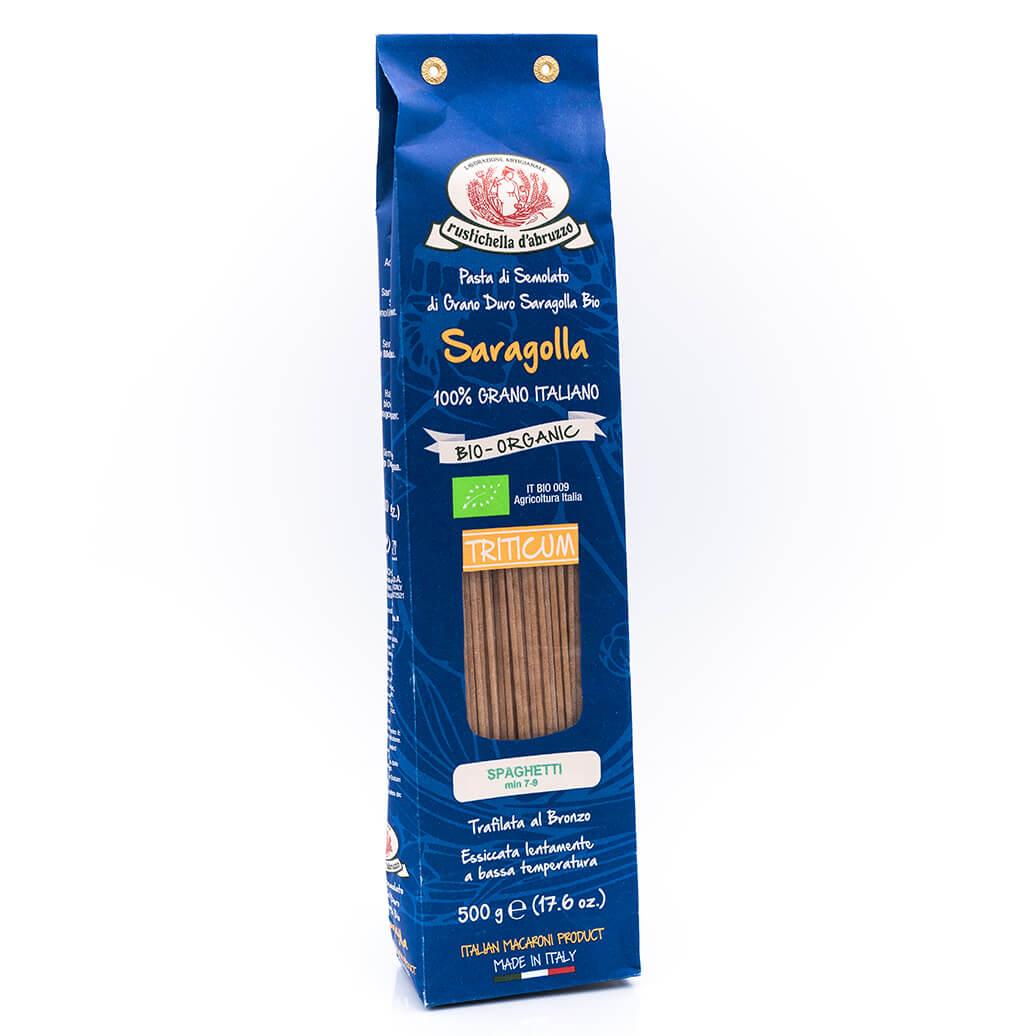 Spaghetti Saragolla - Triticum Bio Organic - Rustichella D'Abruzzo