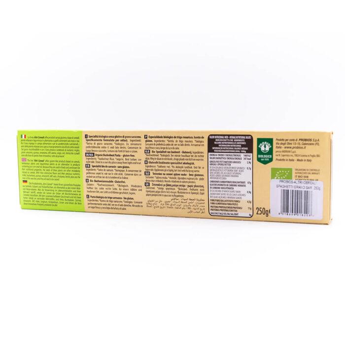 Spaghetti di grano Saraceno - Senza glutine - Probios