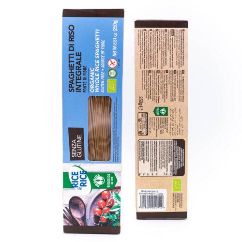 Spaghetti di riso integrale biologico - Senza glutine - Probios