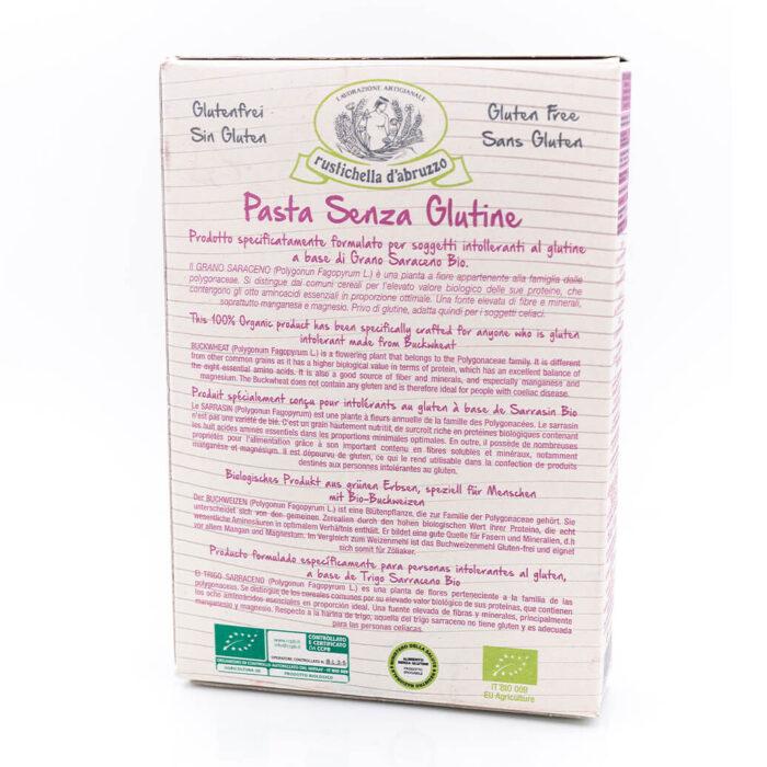 Tortiglioni di grano saraceno biologico - Senza glutine - Rustichella d'Abruzzo