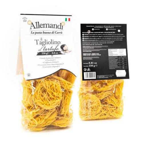Tagliolino al tartufo Allemandi Pasta Artigianale Saporelite