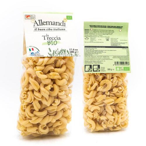 Treccia - Pasta Biologica - Pastificio Allemandi