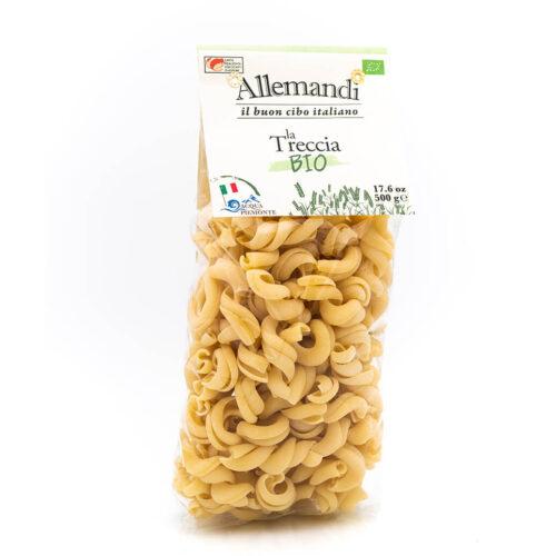 Treccia - Pasta Biologica - Pastificio Allemandi Fronte