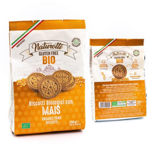 Biscotti biologici al mais - Senza glutine - Naturotti