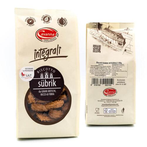 Biscotto Subrik - Integrali - Cavanna