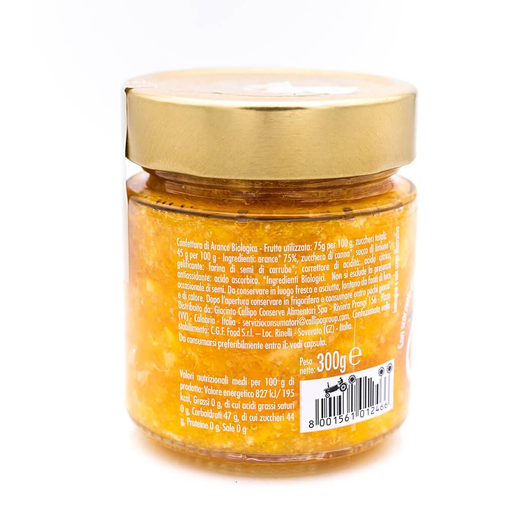 Confettura di arance - Biologica - Callipo Retro