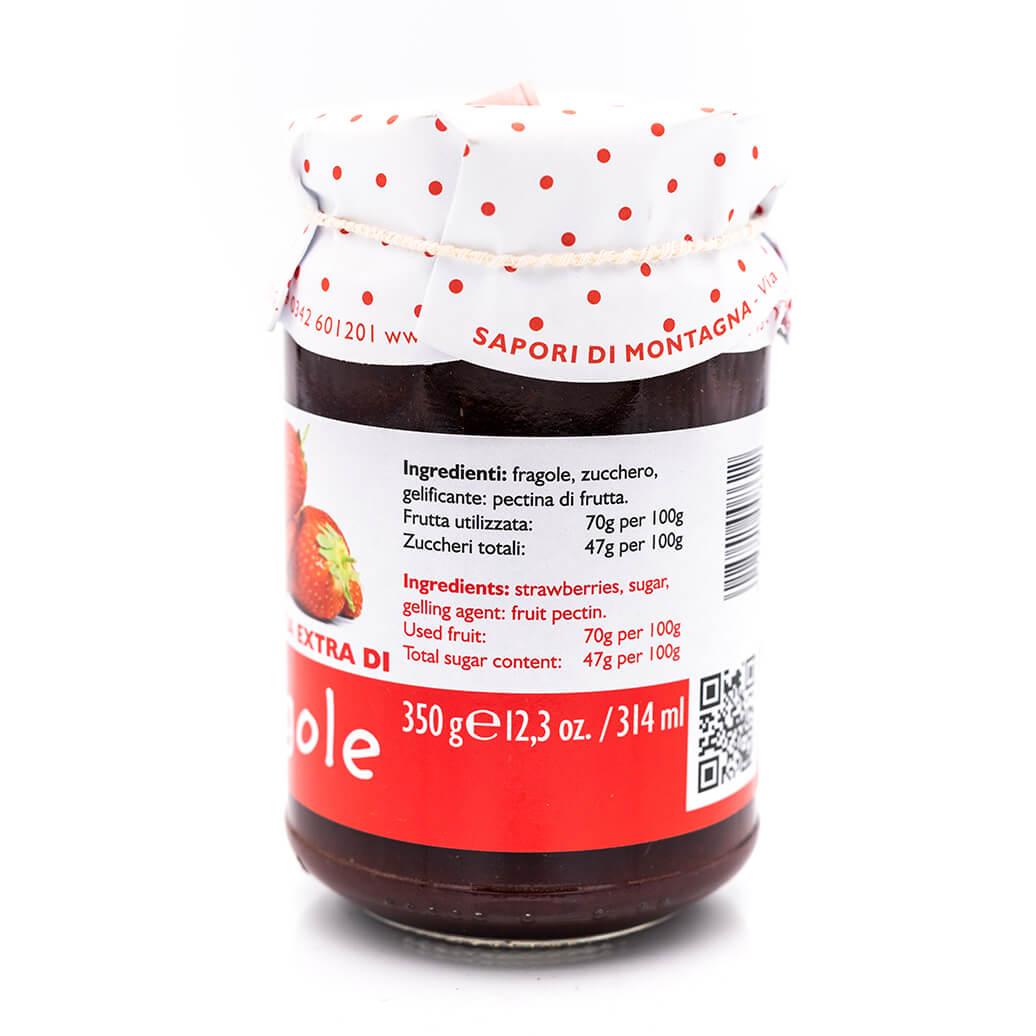 Confettura extra di fragole - Sapori di Montagna Retro