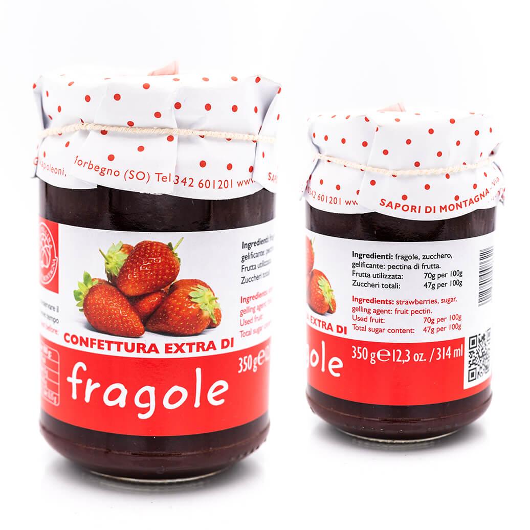 Confettura extra di fragole - Sapori di Montagna