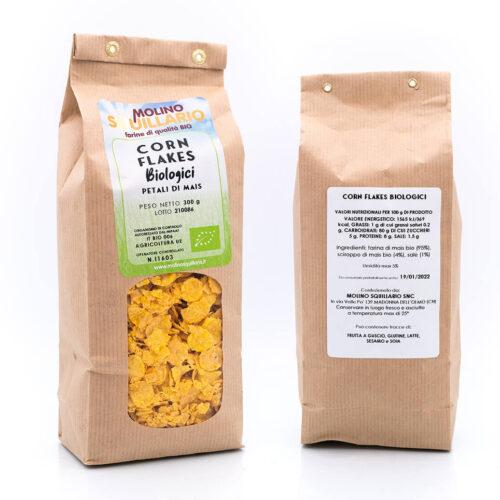 Corn flakes – Biologici – Molino Squillario