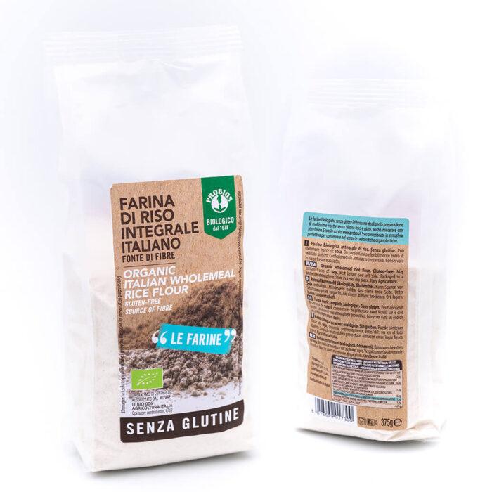 Farina di Riso Integrale Italiano - Bio - Probios