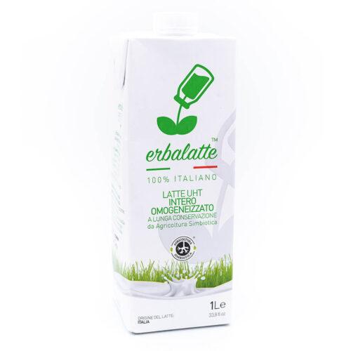 Latte intero - Agricoltura simbiotica - Erbalatte Fronte