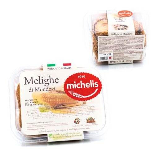 Melighe di Mondovì - Paste di Meliga del Monregalese - Michelis