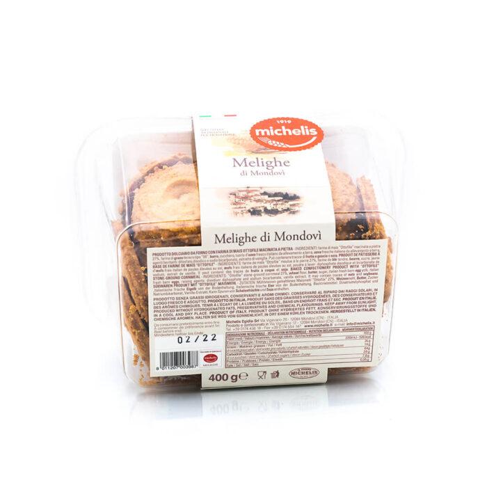 Melighe di Mondovì - Paste di Meliga del Monregalese - Michelis Retro