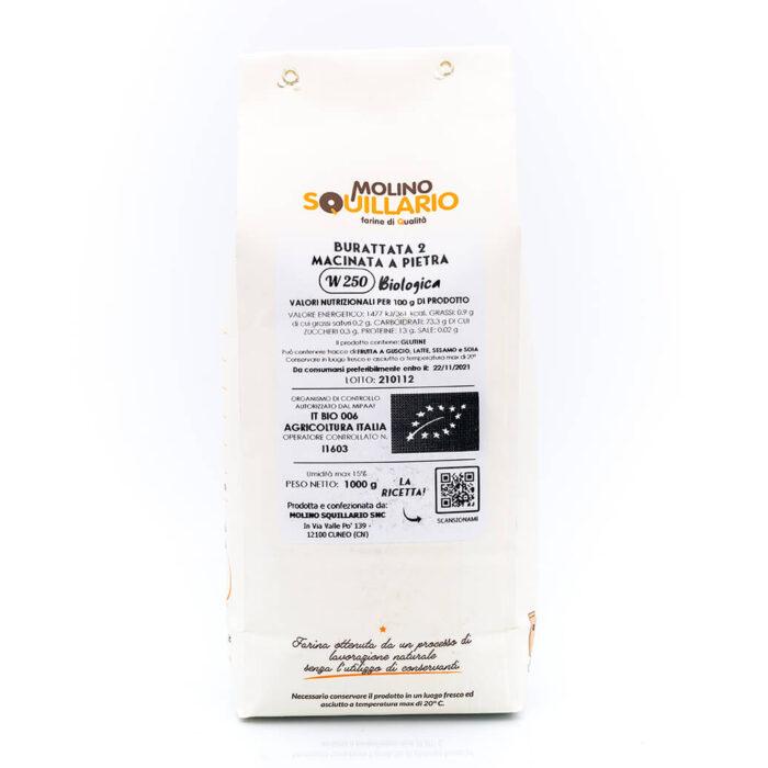 Molino Squillario Farina di Grano Tenero Burattata 2 – Bio Retro