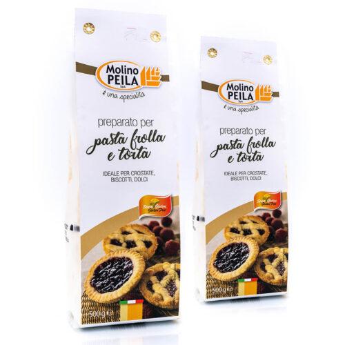Preparato per pasta frolla e torte - Senza glutine - Molino Peila Fronte