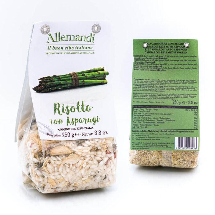 Risotto con asparagi - Preparato per risotti - Allemandi