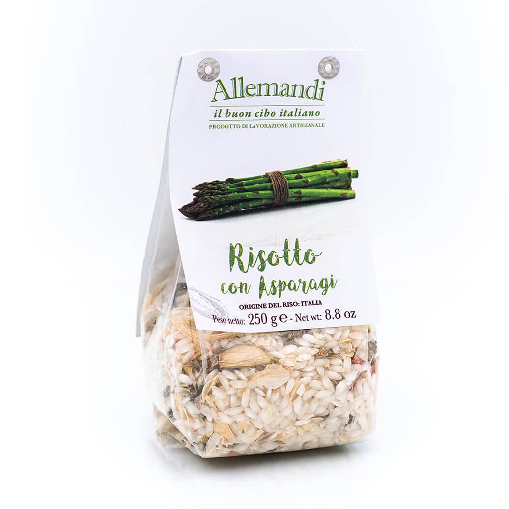 Risotto con asparagi - Preparato per risotti - Allemandi Fronte