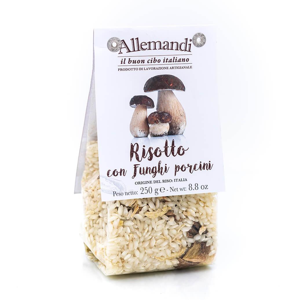 Risotto con funghi porcini - Preparato per risotti - Allemandi Fronte