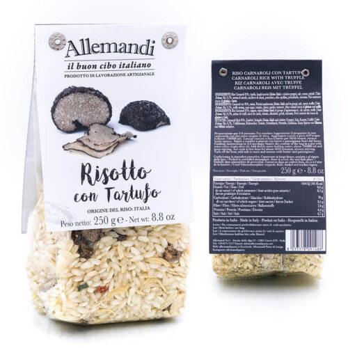 Risotto con tartufo - Preparato per risotti - Allemandi