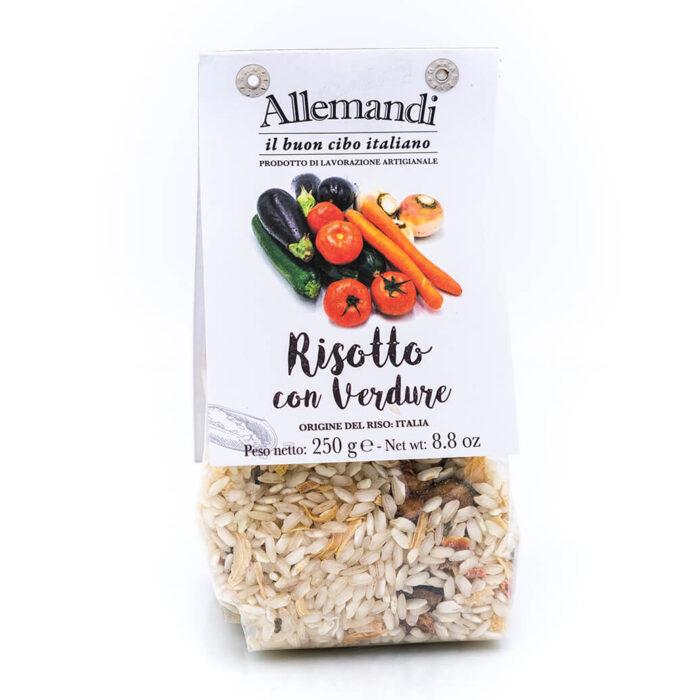 Risotto con verdure - Preparato per risotti - Allemandi Fronte