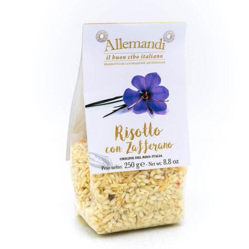 Risotto con zafferano - Preparato per risotti - Allemandi Fronte