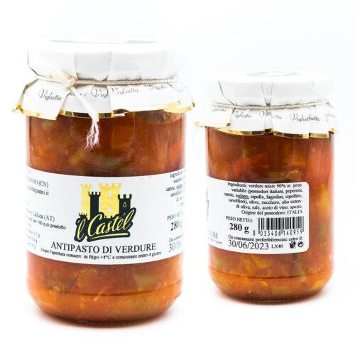 Antipasto di verdure - Viglietta
