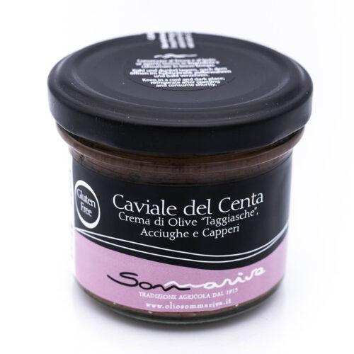 Caviale del Centa - Crema di olive taggiasche, acciughe e capperi - Sommariva Fronte