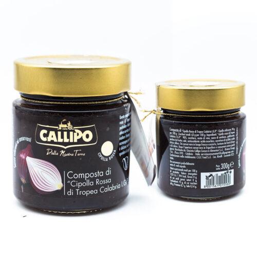 Composta di cipolle rosse di tropea Calabria I.G.P. - Callipo