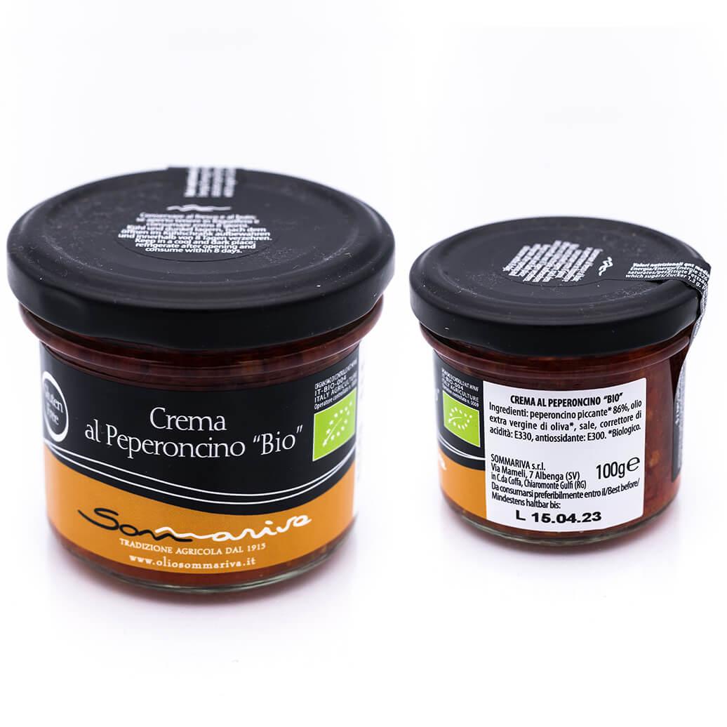 Crema al peperoncino - Biologica - Sommariva
