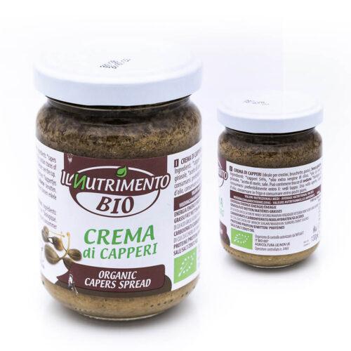 Crema di capperi - Biologica - Il Nutrimento Bio