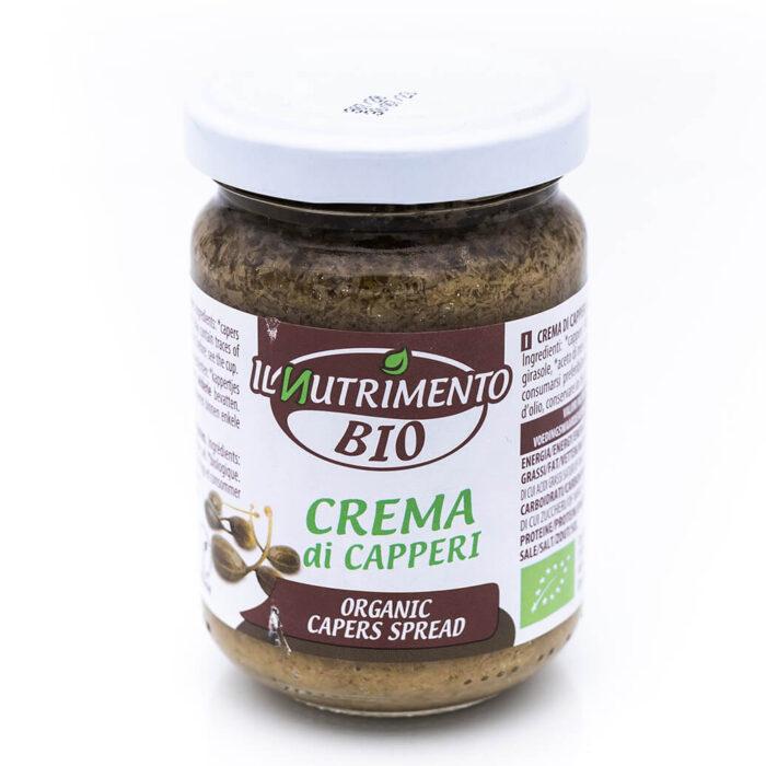 Crema di capperi - Biologica - Il Nutrimento Bio Fronte