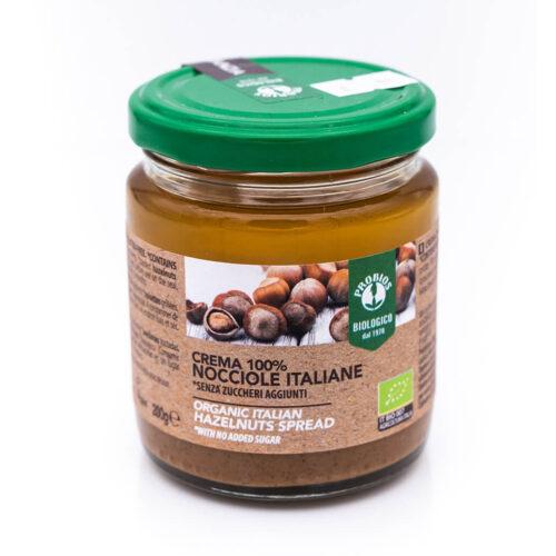 Crema di nocciole italiane - Biologica - Probios fronte