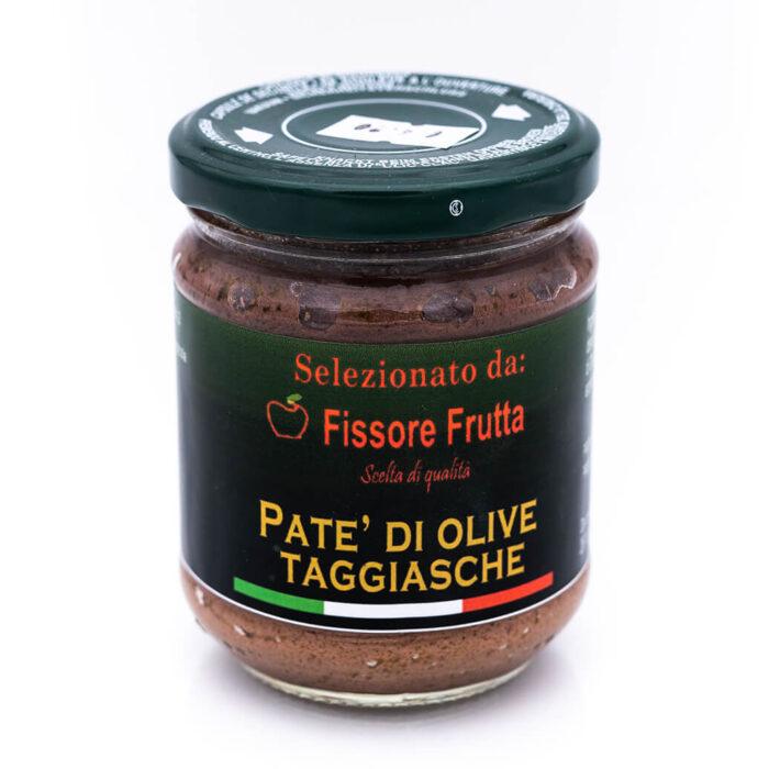 Crema di olive taggiasche - Fissore Frutta Fronte