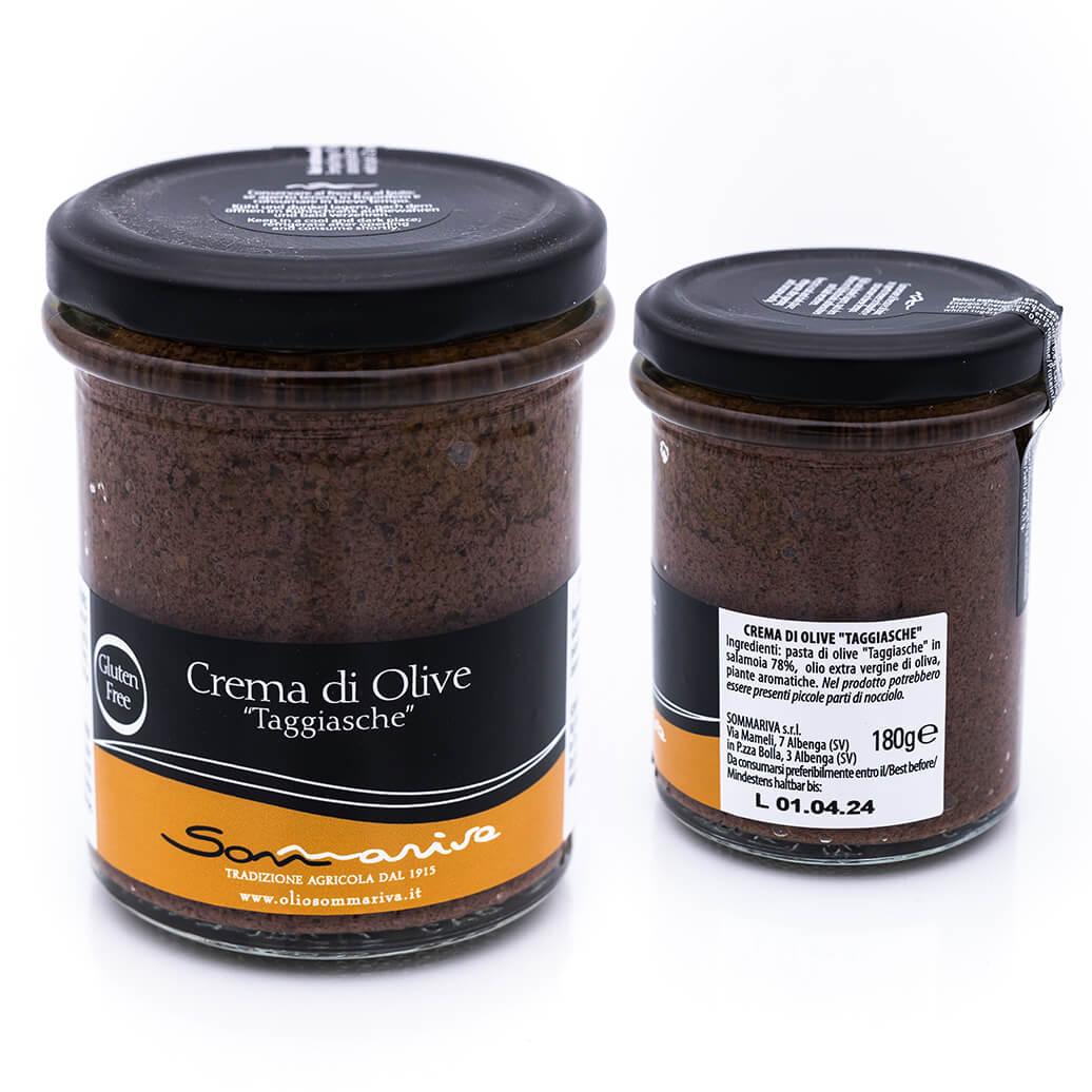 Crema di olive taggiasche - Sommariva