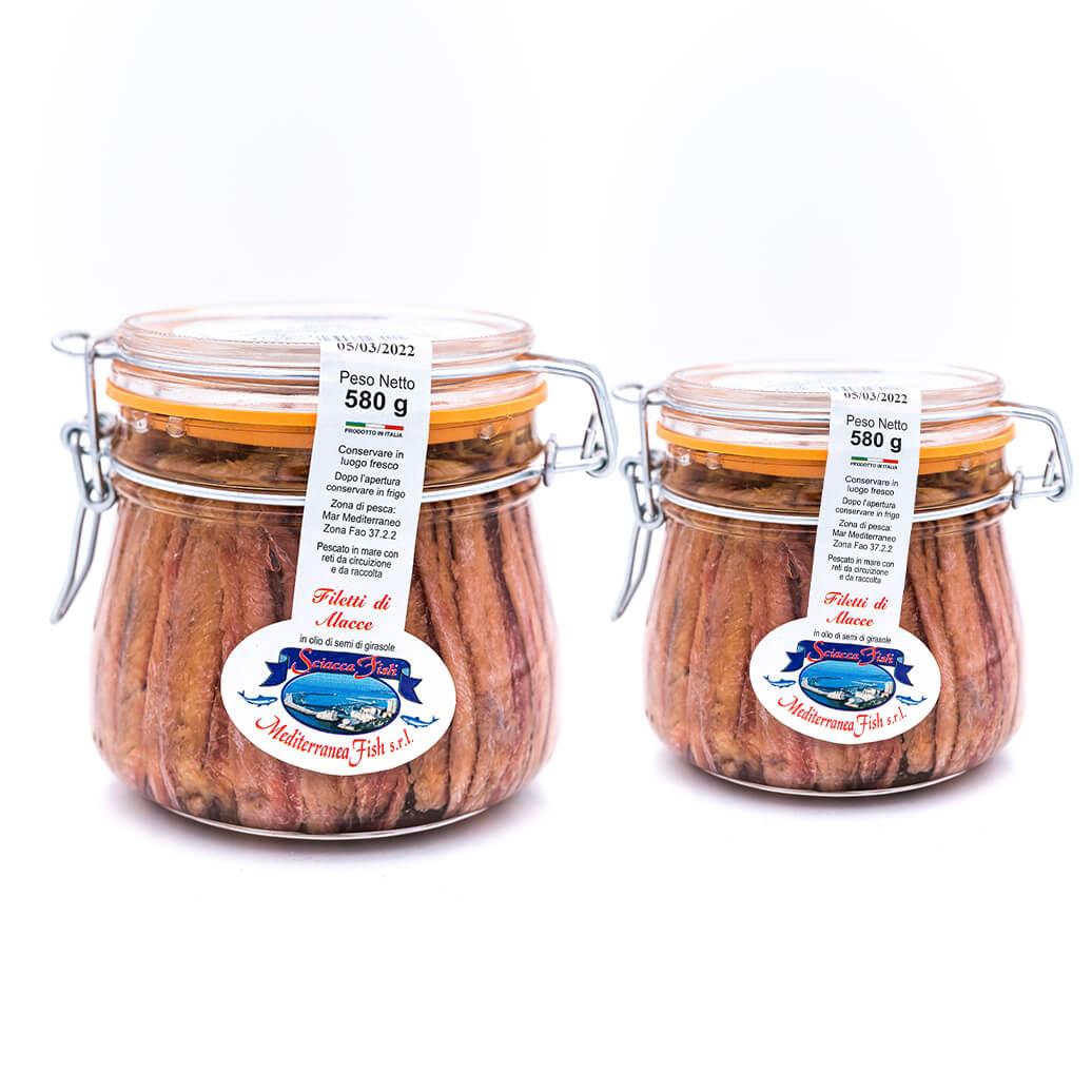 Filetti di Allacce - Mar Mediterraneo - Sciacca