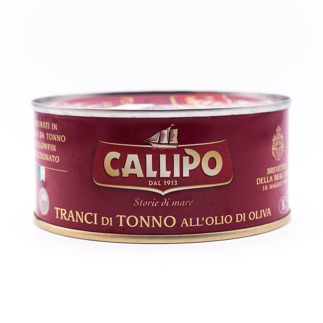 Filetti di tonno in olio di oliva - Callipo 300g fronte