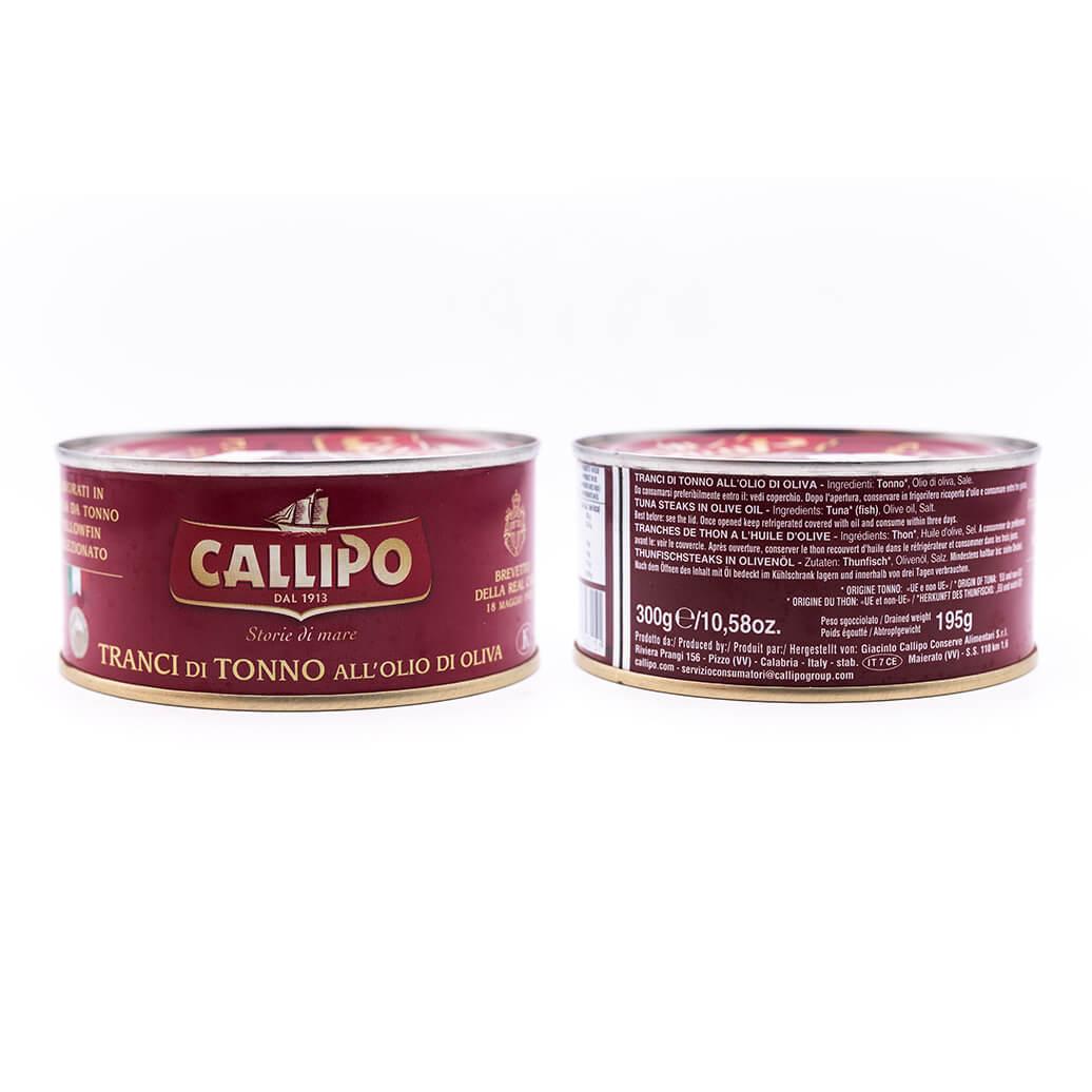 Filetti di tonno in olio di oliva - Callipo 300g