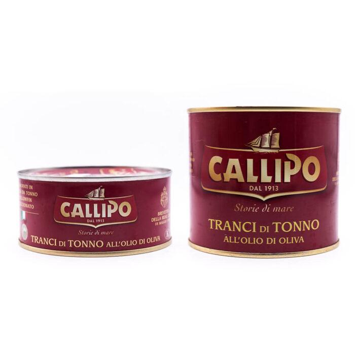 Filetti di tonno in olio di oliva - Callipo
