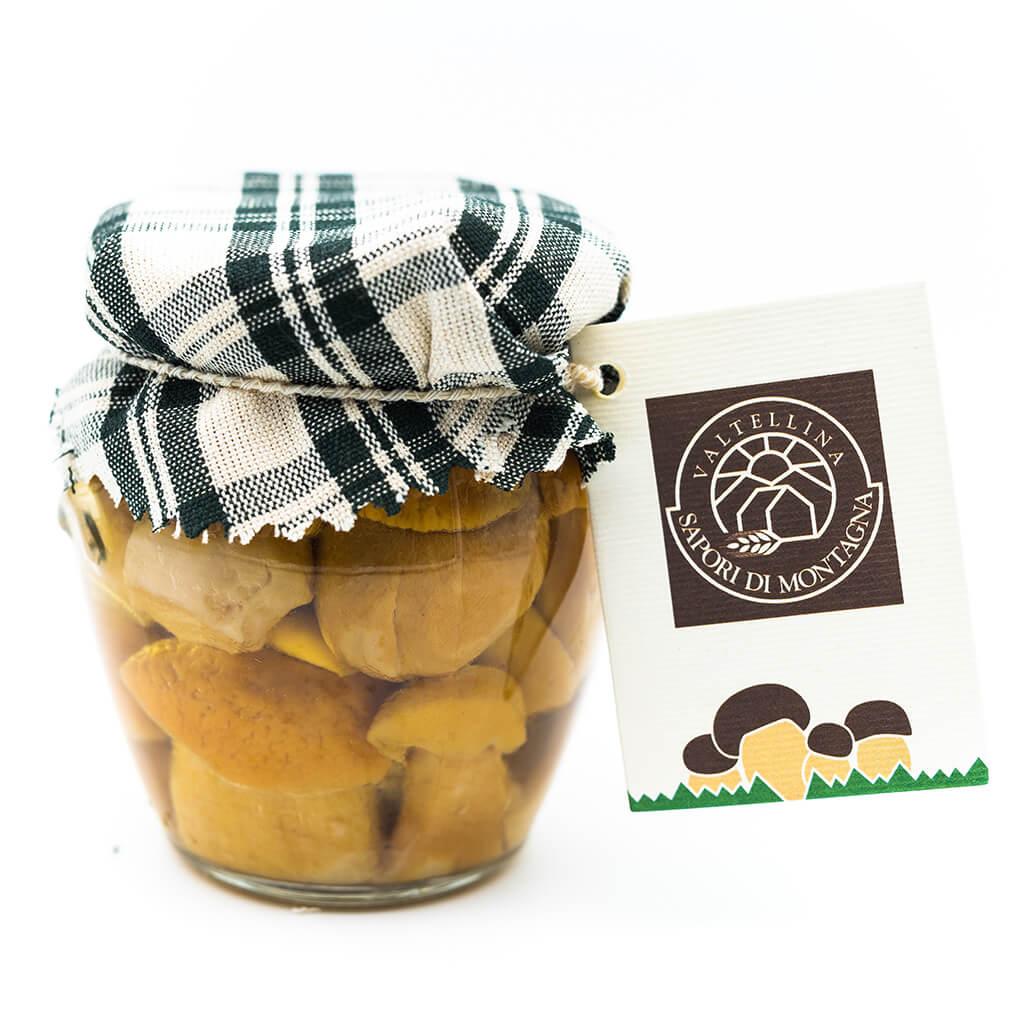 Funghi porcini sott'olio - Sapori di Montagna