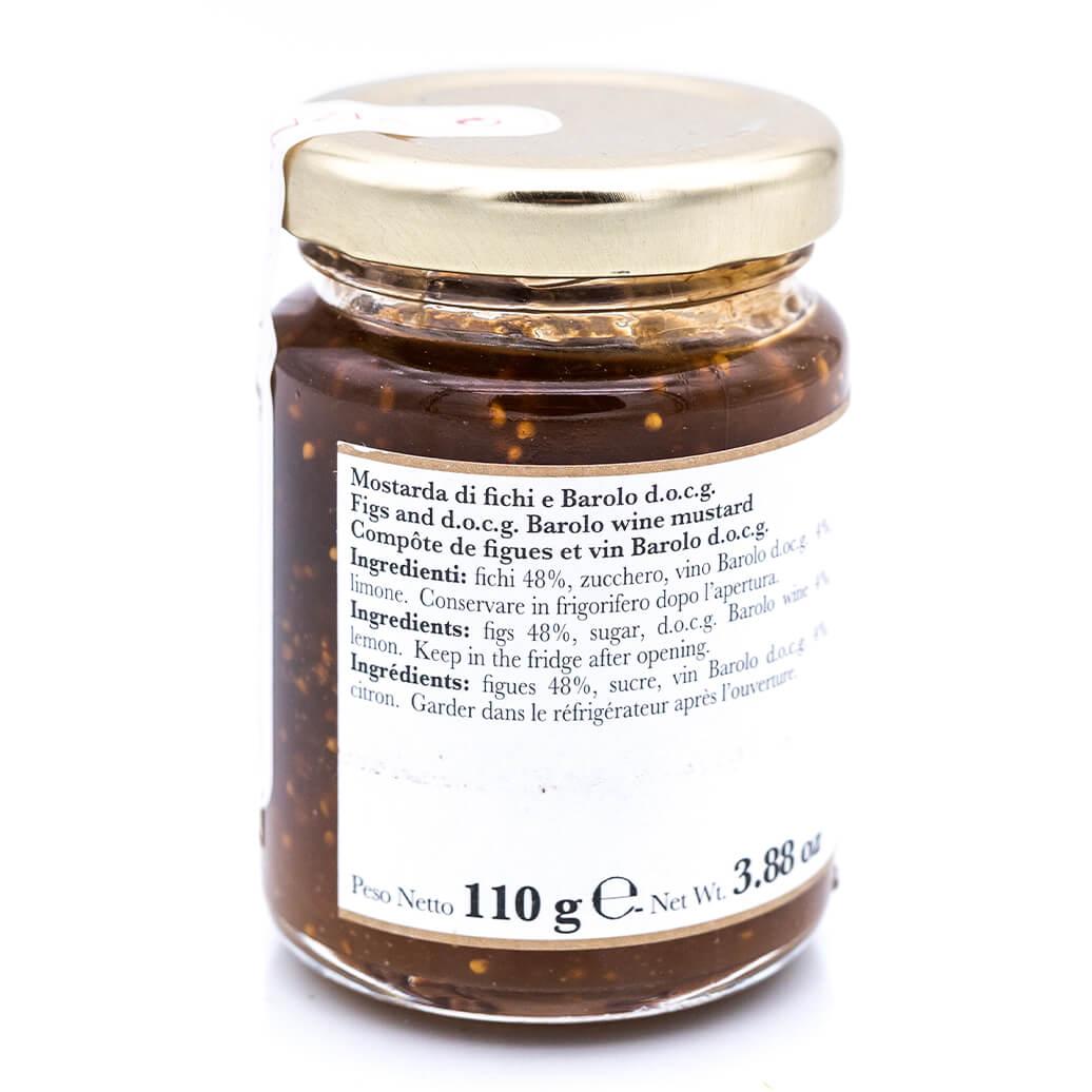 La mostarda di fichi e Barolo Doc - Allemandi